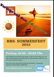 SOMMERFEST 2015 !